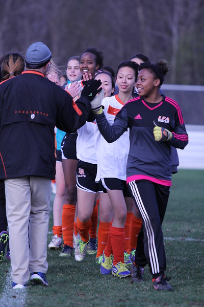 Girls Soccer April 2015