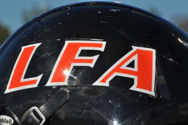 Cheerleaders Lake Forest Academy vs DePaul Prep September 19, 2015