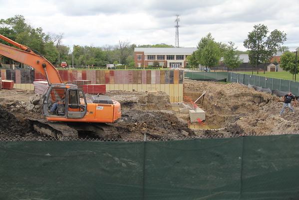 Student Union Construction Progress