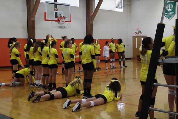 2015 Homecoming Varsity Volleyball Match